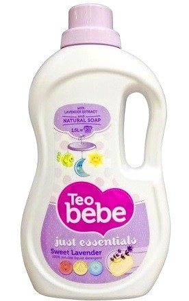 Гель для стирки Teo Bebe Just essentials Sweet Lavander 1,1 л